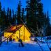 Winter Camping in Yukon by Minnie Clark