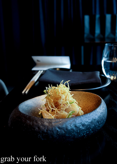 Kingfish miso ceviche at Sokyo at The Star, Pyrmont