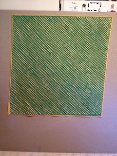 cut chenille blanket back