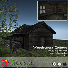 Frogstar - Woodcutters Cottage Poster