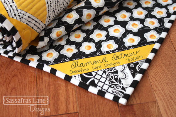 Diamond Detour featuring Black & White Prints