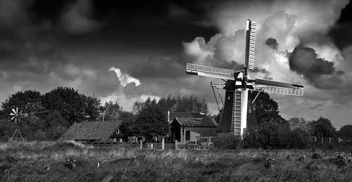 bw netherlands windmill canon canon1740mm canon5dmarkiii remosloof