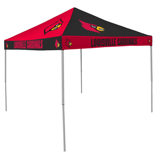 Louisville Cardinals Checkerboard Tailgating Tent