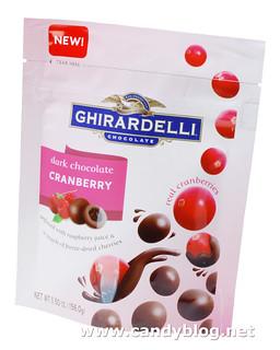 Ghirardelli Dark Chocolate Cranberry
