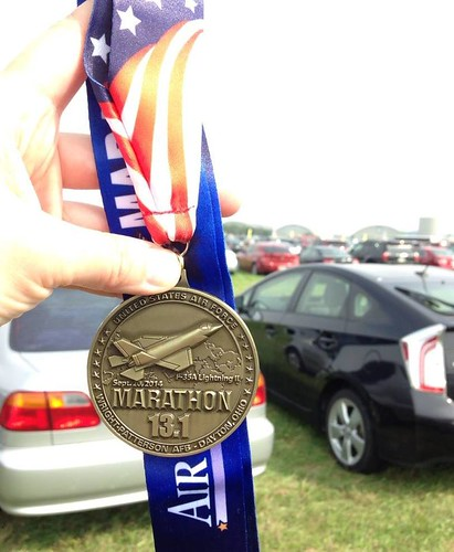Air Force Half Marathon 2014 complete
