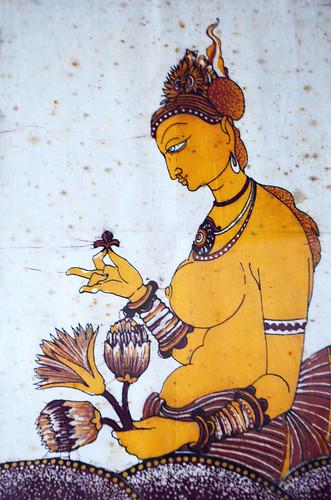 Buddha batik, Sri Lanka
