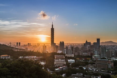 sunset taiwan taipei taipei101 台灣 台北 balmung 台北101 balmungphotography