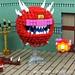 "LEGO DOOM: Cacodemon says ""I am not a Beholder!"" by Ochre Jelly"