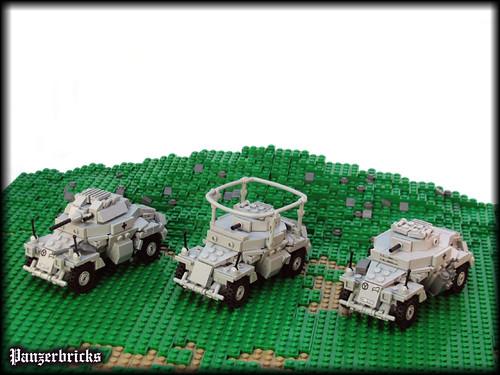 SdKfz 221, SdKfz 222 y SdKfz 223 de Panzerbricks