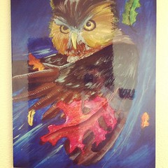 Great Owl artwork
