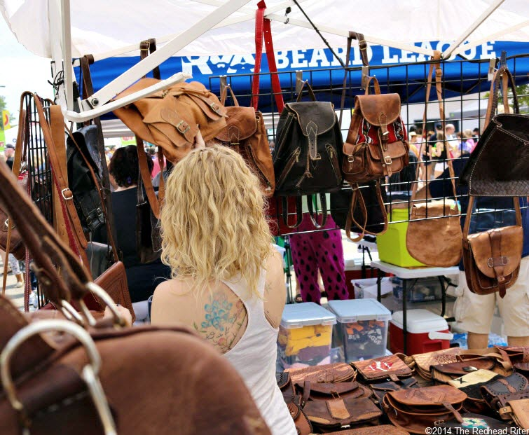 31st Annual Carytown Watermelon Festival,  Richmond, Virginia - Alyssa loves purses