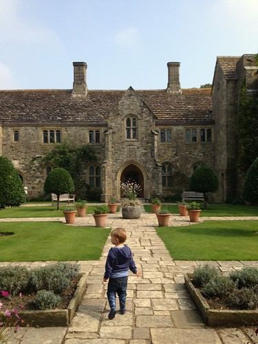 little boy at Nymans