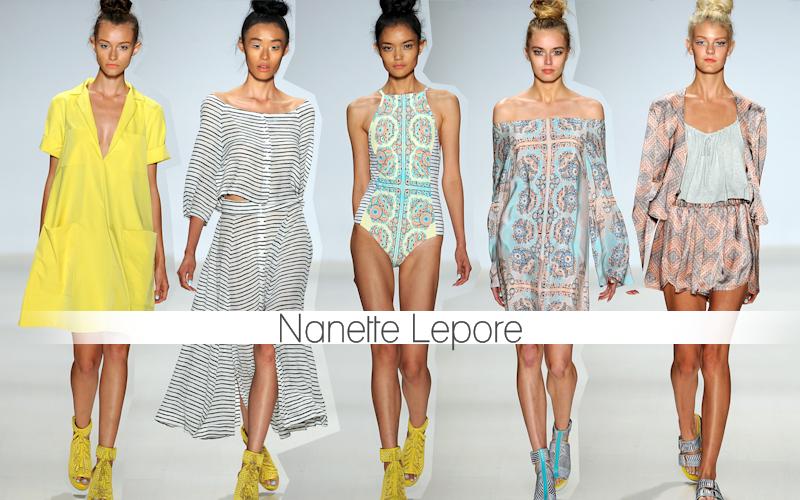 NewYork fashion week 2014 | Nanette Lepore