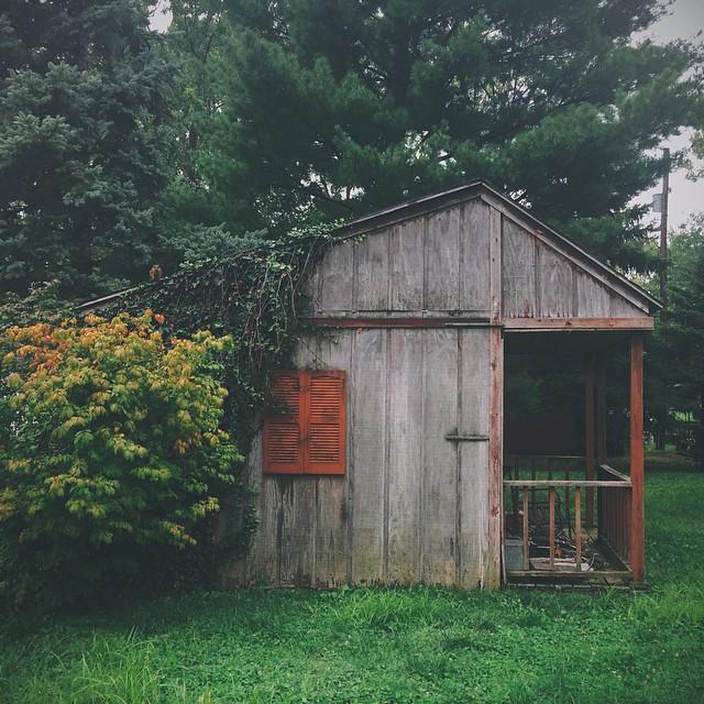 Indiana. {#vscocam #vsco #shed #midwest #igersindy #greenwood}