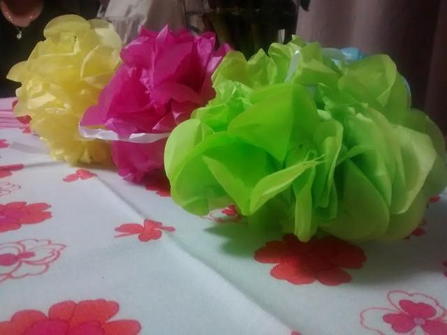 Paper puffs
