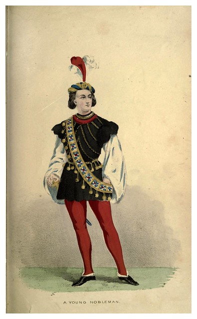 009-Joven noble-Select historical costumes compiled from the most reliable sources -1868