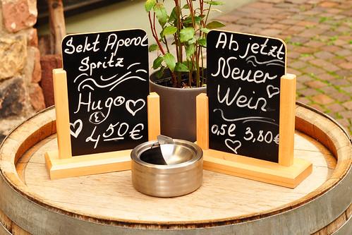 Neustadt an der Weinstraße Pfalz Altstadt Fachwerkhäuser Foto Brigitte Stolle