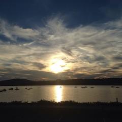 #Beacon #sunset #sailboats
