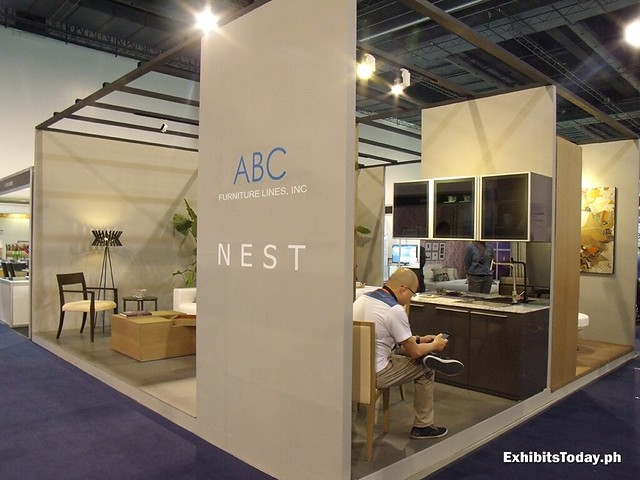 ABC Nest Trade Show Display