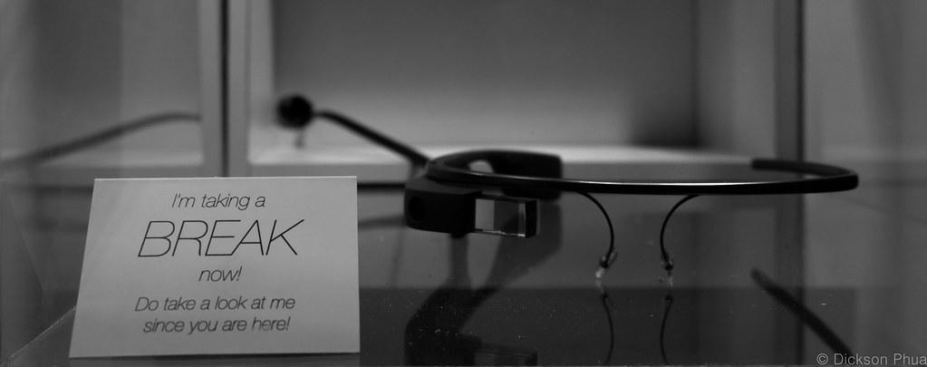 """Google Glass taking a """"Break"""""""