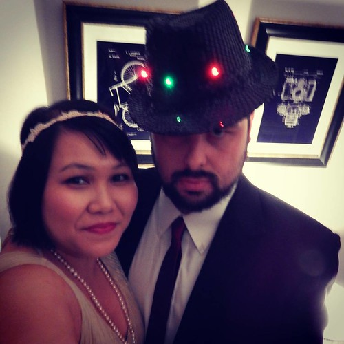 We're off to Murder Mystery Night: Murder at the Juice Joint featuring Mugsy Malone & Kitty Cocktail. In actual fact, Mugsy if not my main squeeze, but it's the Roaring 20s after all...