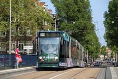 GVB Combino tram 2099, Lijn 2, Heemstedestraat