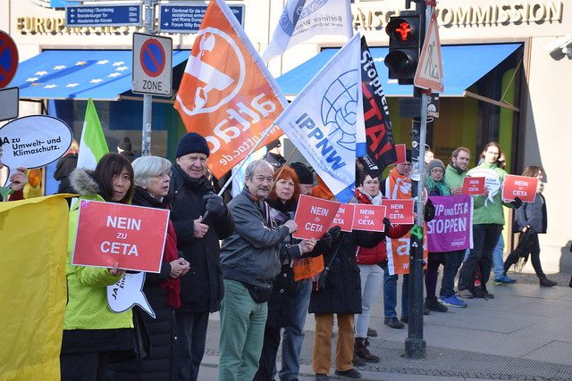 13.02.17: Kundgebung: CETA im Europäischen Parlament stoppen!