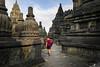 Prambanan walls
