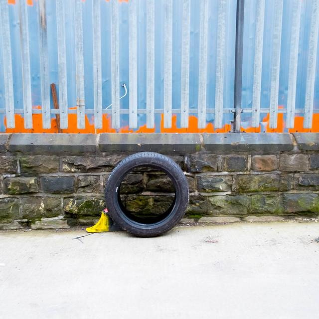 Tyre, Bradwell Road, Sheffield, 2017