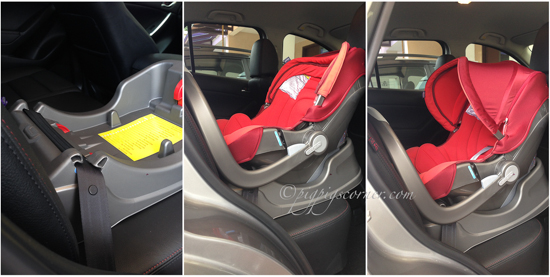 Chicco i-move car seat