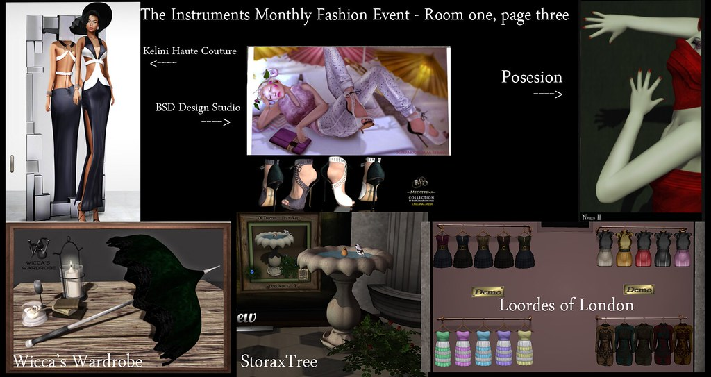 *NEW* The Instruments Monthly Fashion Event - June Round!