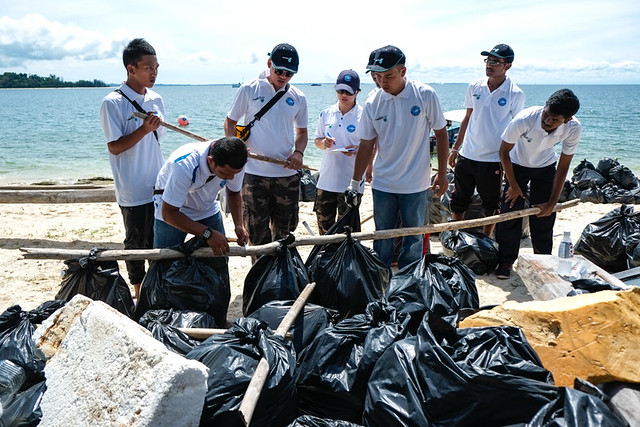 Labuan Marine Park Beach & Underwater Clean Up 2014