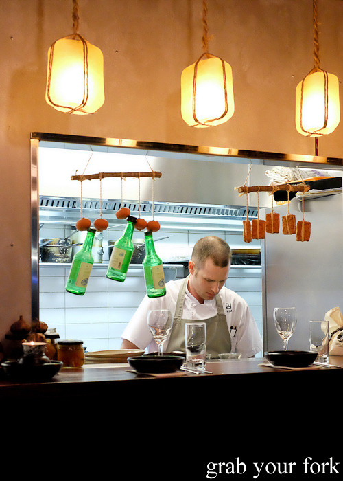 Chef David Ralph at Kim Restaurant, Potts Point