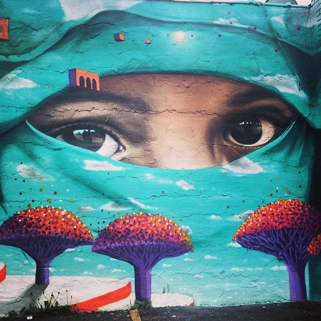 #love this #streetart in #hamtramack #detroit #graffiti close up #2