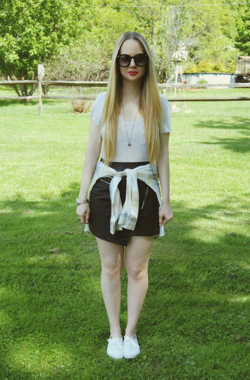 StylestalkerLeatherSkirt_WhiteKeds_ElizabethAndJamesPlaidShirt
