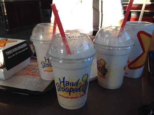 Celebratory Milkshakes