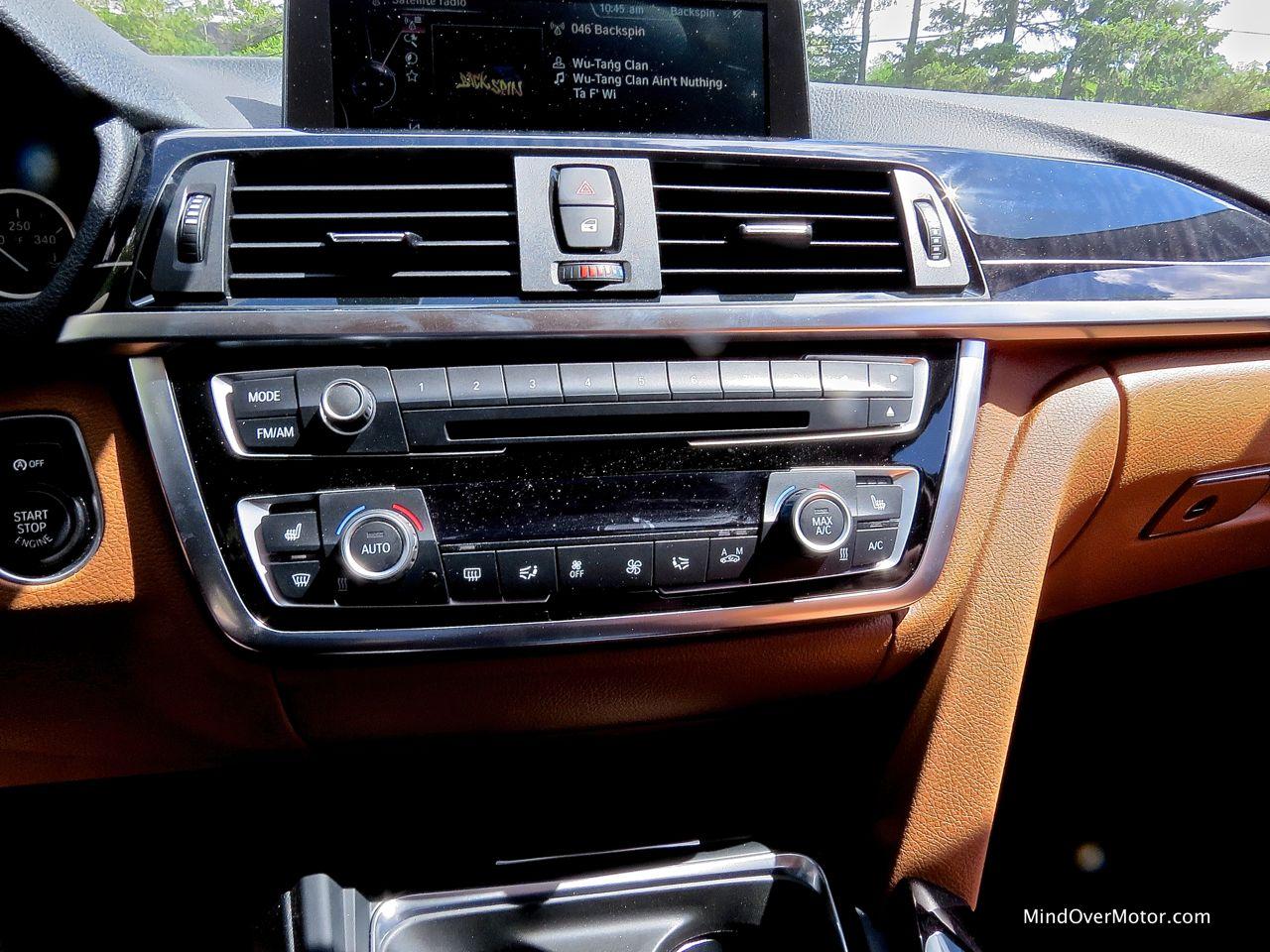 BMW 428i Center Stack
