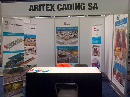 Aritex presenta sus soluciones a los principales fabricantes aeronáuticos en Sevilla