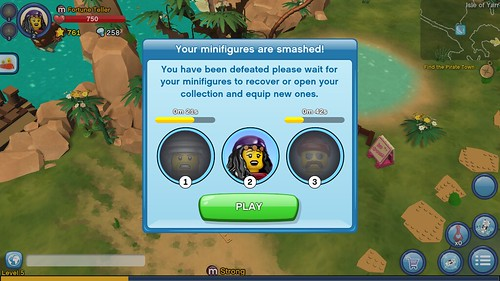 LEGO Minifigures Online Game