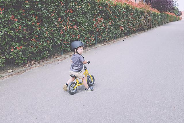 draisienne puky enfant de deux ans