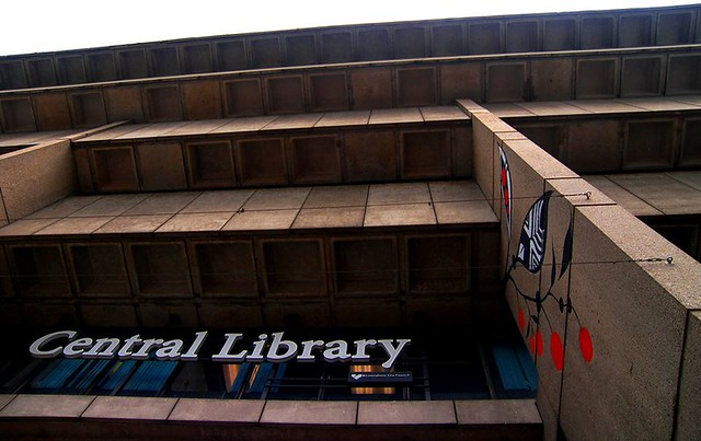 Central Library, by Parmjit Flora