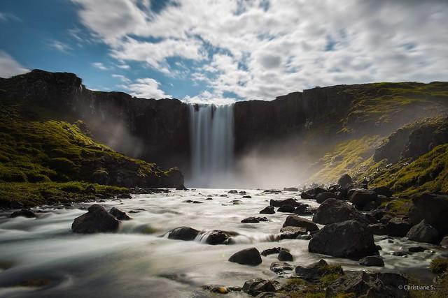Iceland, Gufufoss