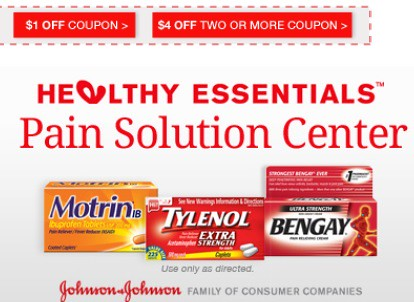 4 2 Motrin Or Bengay Products Printable Coupon No Size Restriction