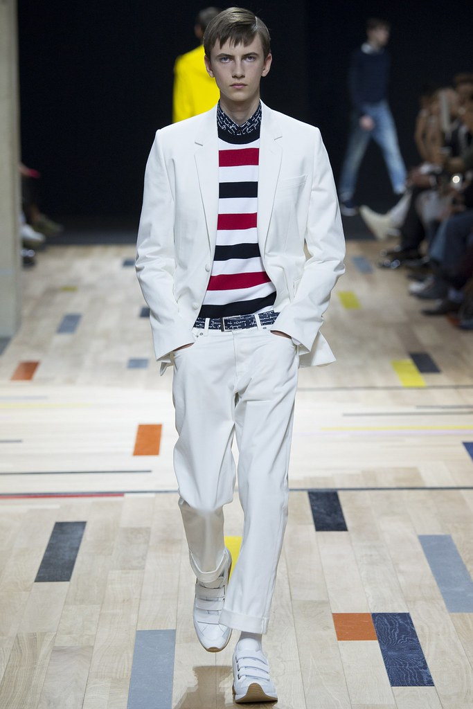 SS15 Paris Dior Homme028_Karl Nalpas(VOGUE)