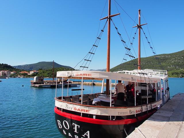 STON的牡蠣場觀光船
