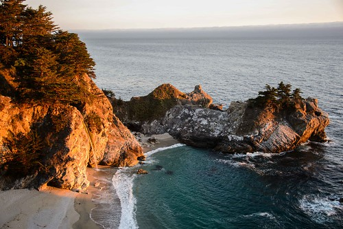 McWay Falls in Big Sur II by Geoff Livingston