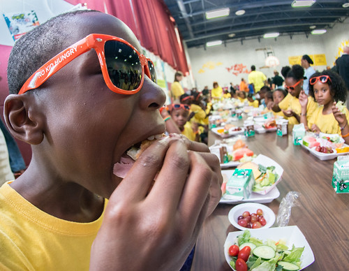The Food Safety and Commodity Specifications Division (FSCSD) within USDA's Agricultural Marketing sets standards and provides testing and oversight for meat, poultry, egg products, and seafood purchased for the National School Lunch Program.