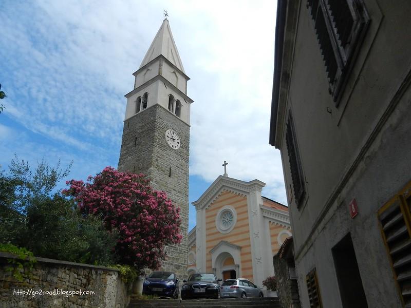колокольня церкви Св.Мавра, Изола