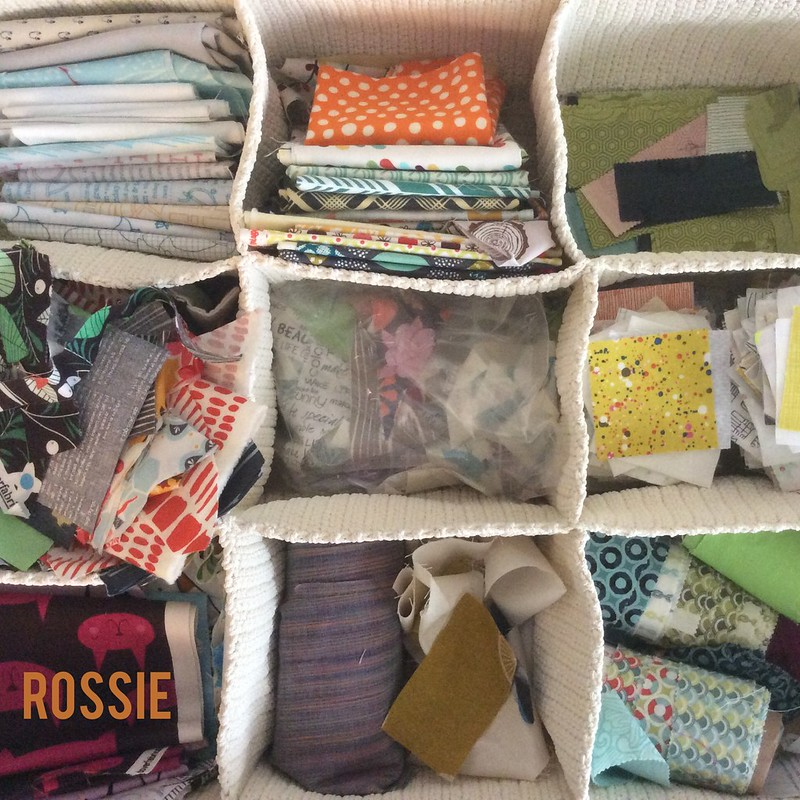 Stash Management in quilt studio
