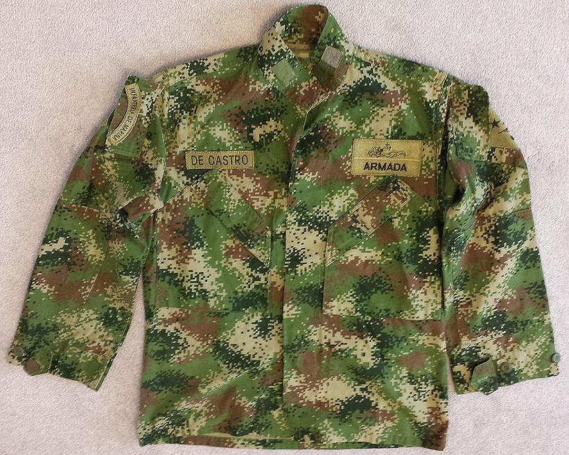 Colombian Digital Camo M65 Field Jacket with Liner 14478010661_30f9b1b3f7_b